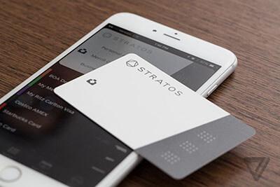 Smart Credit Cards - A Stratos Smart Credit Card Design